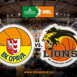 Náš soupeř pro 40. kolo: BK Lions Jindřichův Hradec