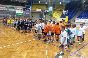 Turnaj basketbalových přípravek 9.12.2015