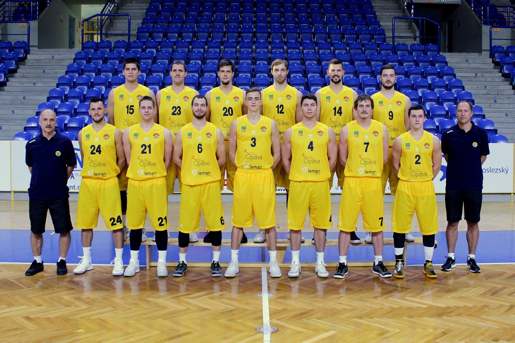 BK Opava - muži A (Kooperativa NBL 2017/2018)