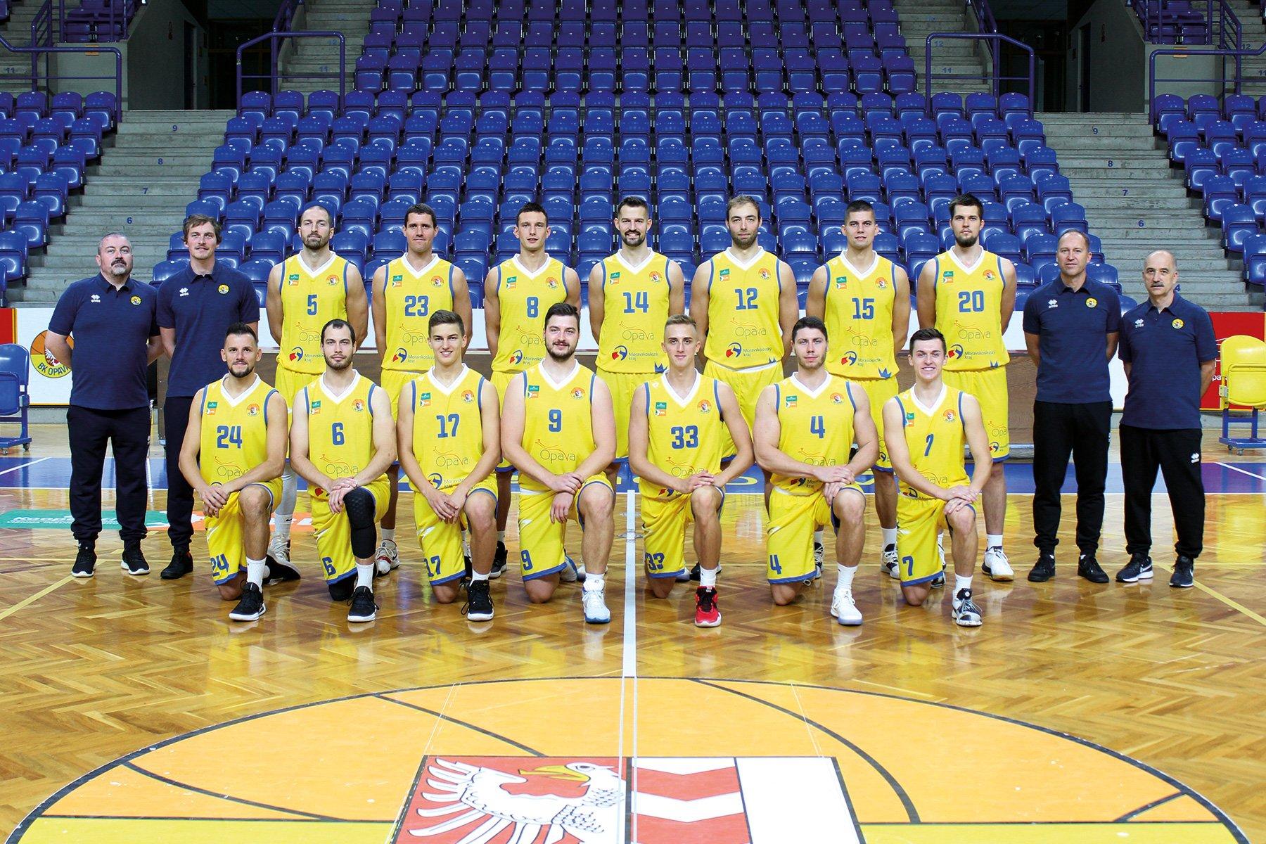 BK Opava - muži A (Kooperativa NBL 2019/2020)