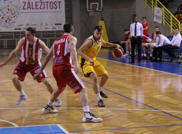 BK Opava – BK JIP Pardubice (1. utkání čtvrtfinále play-off)