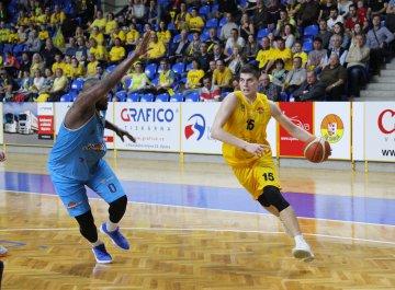 BK Opava - BK Olomoucko (čtvrtfinále, 1. utkání)