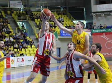 BK Opava - BK JIP Pardubice (semifinále, 3. utkání)