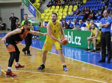 """Filip Zbránek: """"Dnes to byl škaredý basketbal"""""""