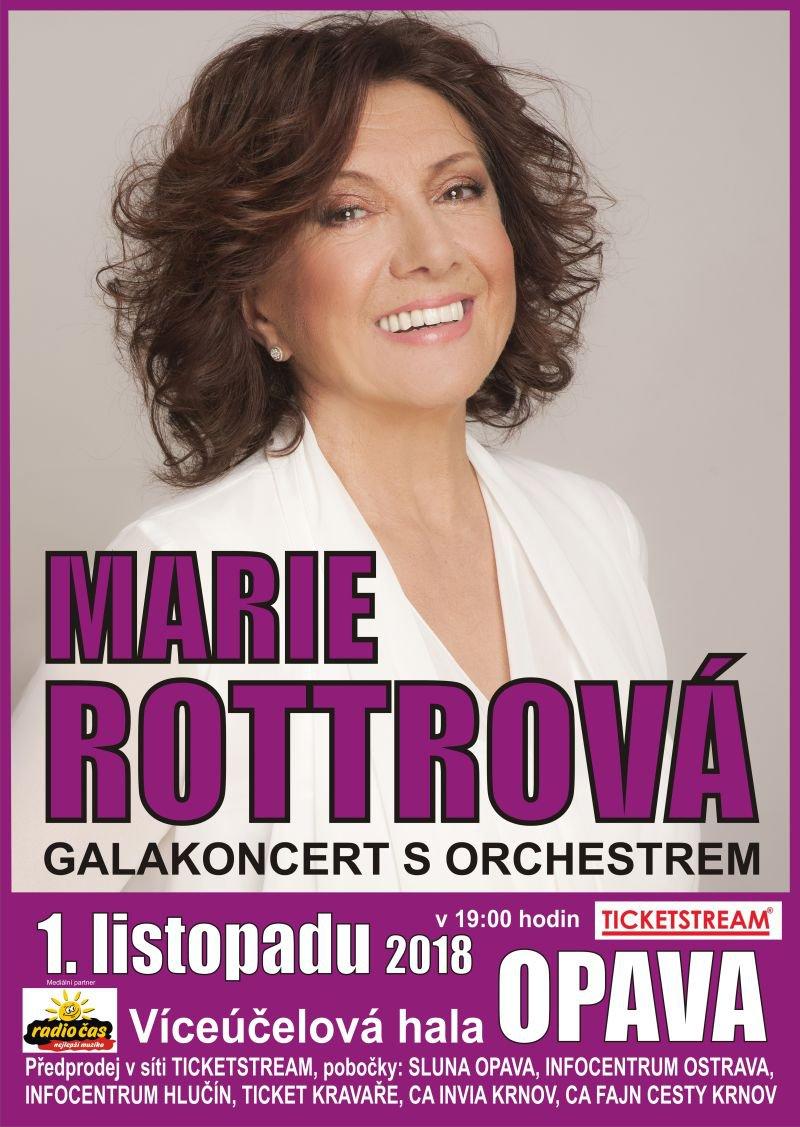 Koncert Marie Rottrové