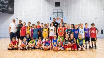 Jr. NBA trénink