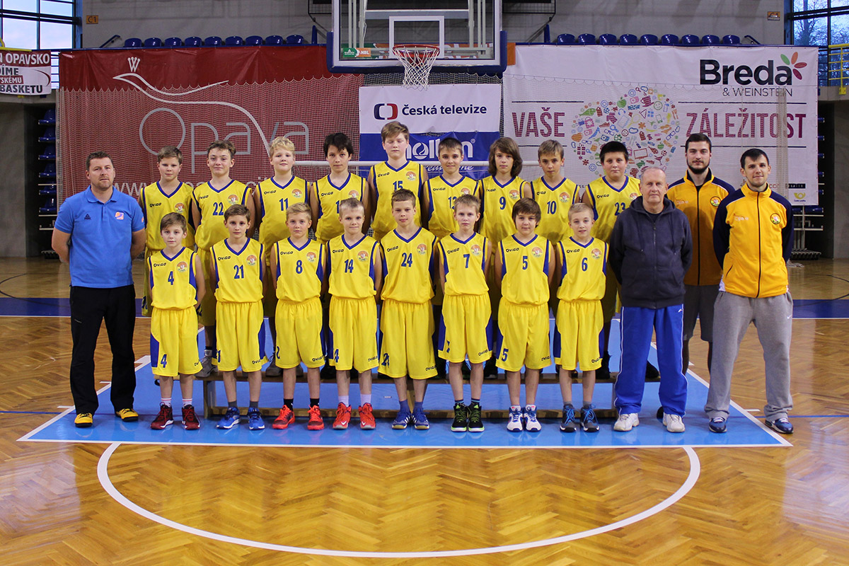 BK Opava U13 (2015/2016)