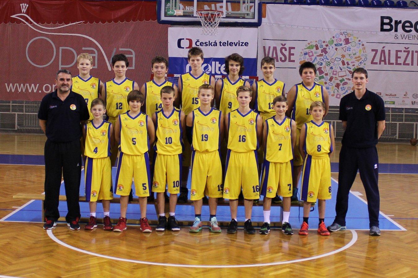 BK Opava U14 (2016/2017)