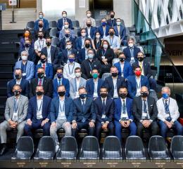 Zástupci všech účastnících se týmů byli pozváni na úvodní workshop před losováním